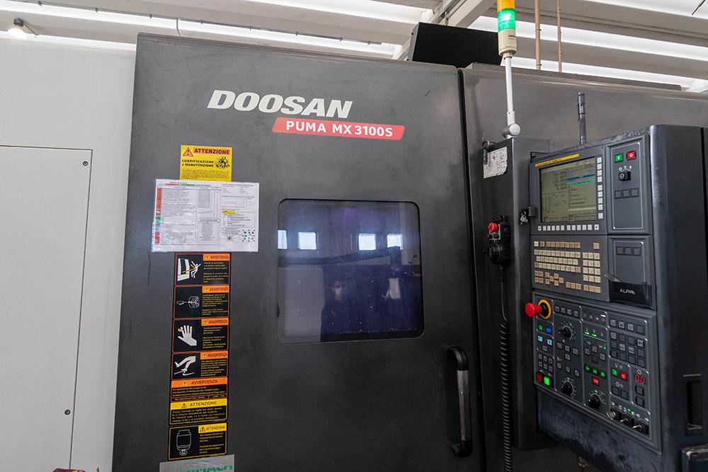1 LMT Solution - Macchina - Doosan Puma MX 3100S